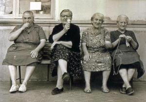 four old ladies