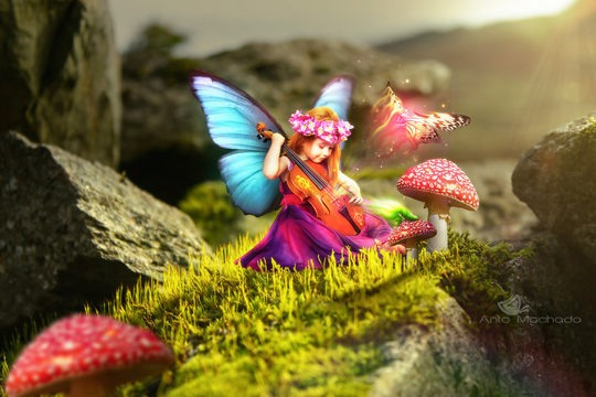Fairy fantasy Digital art by Anto Machado